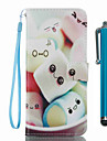 Pour samsung galaxy s8 plus s8 porte-carte portefeuille avec support flip pattern case plein corps carton dur pu cuir