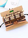 Retro Original Handmade Woven Coconut Shell Bracelet