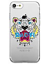 For iPhone 7 Plus 7 Case Cover Eco-friendly Transparent Pattern Back Cover Case Animal Cartoon Soft TPU for iPhone 6s Plus 6s 6 5s SE 5