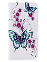 Pour huawei p10 p9 lite housse papillon modele pu materiel carte stent portefeuille telephone casque galaxy 6x y5ii p8 lite (2017)