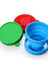 Mugs de Voyage / tasse Pliable Ustensiles de Voyage pour Manger pour Pliable Ustensiles de Voyage pour Manger Rouge Vert Bleu