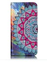 For Samsung Galaxy S8 S8 Plus Case Cover Half Flower Pattern Shine Relief PU Material Card Stent Wallet Phone Case S7 S6 S7 S6 Edge