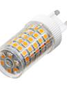 YWXLight® Dimmable G9 10W 86LED 2835SMD 850-950 Lm Warm White/Cool White/Natural White LED Ceramics Lamp AC 220-240V 1PCS