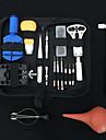 시계 수리 도구 키트 조정 가능한 뒷캡 오프너 덮개 제거제 나사 시계 제조자 열려있는 건전지
