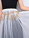 Mulheres Bijuteria de Corpo Corrente de Barriga Moda bijuterias Liga Caido Joias Para Palco Roupas para Lazer Para Noite