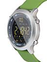 HHY EX18 Smart Watch Bracelet News Push Luminous Dial Professional Stopwatch 50 Meters Super Waterproof