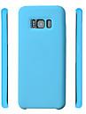 Назначение Чехлы панели Защита от удара Задняя крышка Кейс для Сплошной цвет Мягкий Силикон для Samsung S8 S8 Plus