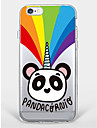 Caso para iphone 7 mais iphone 6 panda pattern soft shell para iphone 7 iphone6 ​​/ 6s mais iphone6 ​​/ 6s iphone5 5s se