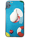 Para o iphone 7 mais 7 capas de capa capa traseira estofamento rigido cartoon animal acrilico duro para iphone 6s mais 6s 6 mais 6 5s 5 se