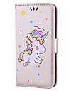 Case for Huawei P10 Lite P10 Case Cover Card Holder Flip Pattern Full Body Case Unicorn Hard PU Leather for Huawei P9 Lite P8 Lite P8 Lite 2017