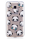 Case For Samsung Galaxy J3 J3 (2016) Case Cover Panda Pattern Painted High Penetration TPU Material IMD Process Soft Case Phone Case J5 (2016)