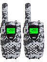 Walkie talkies de camo duravel para criancas 22 canais de carregamento de micro usb 3 milhas (ate 5 milhas) frs / gmrs mini walkie talkies