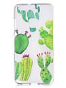 Caso para huawei p10 p10 lite capa capa padrao de cacto pintado de alta penetracao tpu material imd processo maleta caso de telefone para