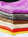 강아지 침대 애완동물 담요 솔리드 웜 폴더 소프트 랜덤 색상