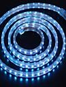 2m의 220V의 higt 밝은 유연한 빛 스트립 유럽 연합 (EU) 전원 플러그와 5050 120smd 세 크리스탈 방수 라이트 바 정원 조명을 주도