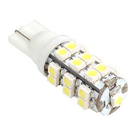 Светодиодная лампа T10 1Вт 25xSMD LED 40лм 5500K теплый белый свет (12В)