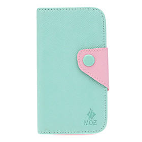 Wallet Credit Card Slots Stand PU Leather Case Cover for Samsung Galaxy S4 i9500/i9505