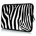 "Zebra Stripe Neoprene Laptop Sleeve Case for 10-15"" iPad MacBook Dell HP Acer Samsung"