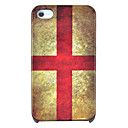 Vintage England Flag Pattern Hard Case for iPhone 4/4S