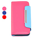 Candy Color Leather Full Body Case for iPhone 5/5S(Assorted Colors)
