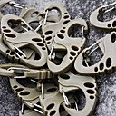 5 x Hollow-out Eight-character Shape Plastic Buckle Clasps(Random Colors)