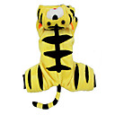 Dog Costume / Coat / Outfits Yellow Dog Clothes Winter Animal Cosplay / Halloween