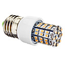 4W E26/E27 LED Corn Lights T 60 SMD 3528 270 lm Warm White AC 220-240 V