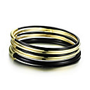 Fashionable European Style Multilayers Round Bangle Bracelet
