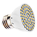 3W E26/E27 LED Spotlight MR16 60 SMD 3528 240 lm Warm White AC 110-130 / AC 220-240 V