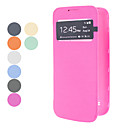 Solid Color S View Window Case for Samsung Galaxy S4 Mini I9190 (Assorted Colors)