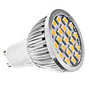 3W GU10 LED Spotlight MR16 21 SMD 5050 240 lm Warm White AC 110-130 / AC 220-240 V
