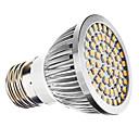 E26/E27 3W 60 SMD 3528 240 LM Warm White MR16 LED Spotlight AC 110-130 / AC 220-240 V