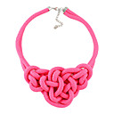 Candy Color Weave Necklace(Assorted Color)