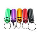 Водонепроницаемый Медицина бутылки с кольцом для ключей на открытом воздухе (Random Color)