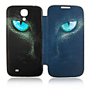 Cat Eyes Full Body Leather Case for Samsung Galaxy S4 I9500