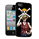 Luffy Pattern 3D Effect Case for iPhone5