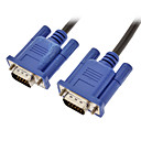 15 PIN SVGA VGA Monitor M/M Cable CORD FOR PC TV(1.5M)