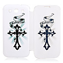 Cross Leather Case for Samsung Galaxy S3 I9300