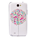 Color Balloon Pattern Plastic Case for Samsung Galaxy Note 2 N7100