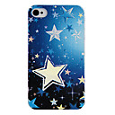 Hand Paint Five-Pointed Star Back Case for iPhone 4/4S