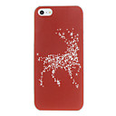 Christmas Deer Pattern PC Hard Case for iPhone 5/5S