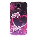 Romantic Heart Pattern Hard Case for Samsung Galaxy S4 I9500