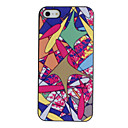 Colorful Flying Fish Pattern PC Hard Case with Black Frame for iPhone 5/5S