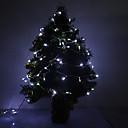 10M 5W 100-LED 350LM 6000K Холодный белый свет Светодиодные полосы света (220)