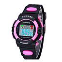 Детская SYNOKE LEO Наберите Digital PU Группа водостойкой наручные часы
