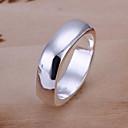 (1 шт) Серебро медное кольцо сладостных женщин (размер 8 #)