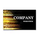 200шт персонализированные 2 Стороны Печатные Матовая пленка интерференционная картина Визитная карточка