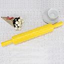 Fondant Торт Инструменты Хризантема скалкой торт украшение для печати Mold