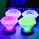 Cone Shape Colorful ABS LED Night Light (Random färg)
