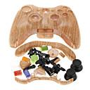 Замена Wood Grain жилищно чехол для Xbox 360 контроллер